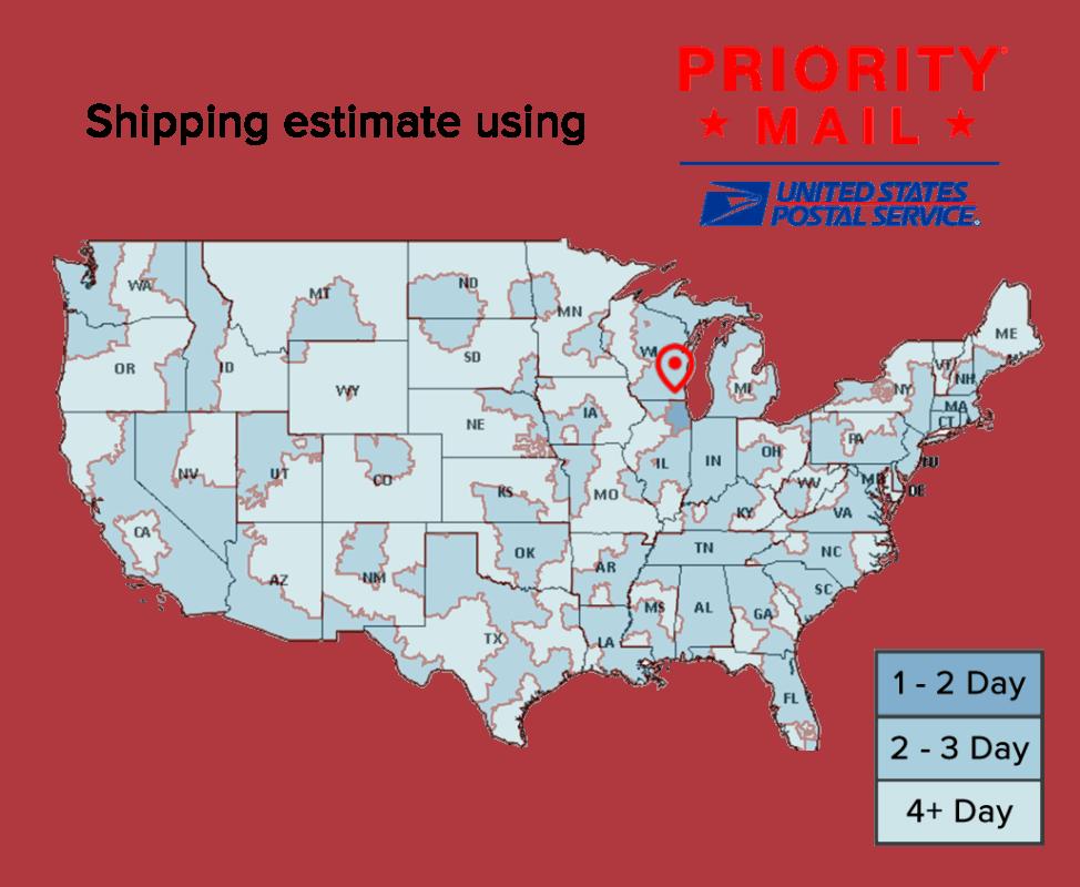 Shipping times USPS Priority | Feynlab - www.feynlab.com