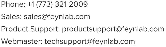 Contact Information | Feynlab - www.feynlab.com